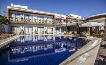 Akkan beach hotel bodrum havuz