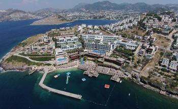 Delta hotels by marriott bodrum üstten