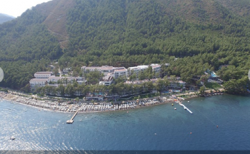 Sentido orka lotus beach hotel genel görünüm