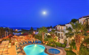 Sunny garden nilüfer hotel üst görünüş