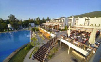 Işıl club bodrum hotel manzara